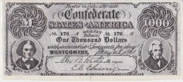 1000  DOLLARS CONFEDERE - Collections