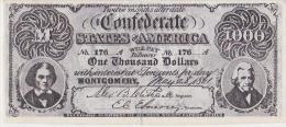 1000  DOLLARS CONFEDERE - United States Of America