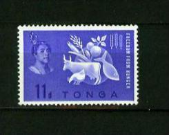 Tonga 1963,1V,freedom From Hunger,anti-honger,anti Hunger,anti Faim,anti Fame,MNH /Postfris(D1913) - Koeien