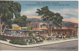 Laguna Beach California - Pottery Shack Pacific Coast - VG Condition - Unused - United States