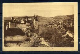 CPA , LA ROCHEPOT. Le Chateau Et Le Village . Voir Recto - Verso    (R787) - France