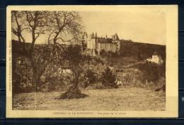 CPA , LA ROCHEPOT. Le Chateau Vue Prise De La Plaine . Voir Recto - Verso    (R789) - France