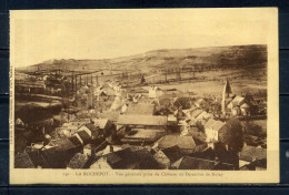 CPA , LA ROCHEPOT. Vue Générale Prise Du Chateau En Direction De Nolay . Voir Recto - Verso    (R790) - France
