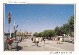 95 Enghien Les Bains La Promenade (Scan Recto Verso) - Enghien Les Bains
