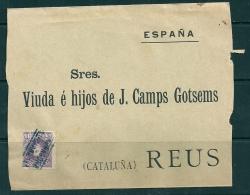 Spain 1901-05 Alfonso XIII Reus - 1889-1931 Kingdom: Alphonse XIII
