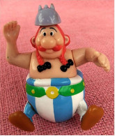 Figur Von Goscinny-Underzo 1994  -  Obelix  -  Rollbar - Arme Beweglich - Unclassified