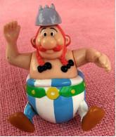 Figur Von Goscinny-Underzo 1994  -  Obelix  -  Rollbar - Arme Beweglich - Action- Und Spielfiguren