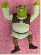 Figur Von McDonald`s 2007  -  Shrek  -   Kopf Und Arme Beweglich  -  Mit Stimme - Unclassified