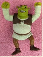 Figur Von McDonald`s 2007  -  Shrek  -   Kopf Und Arme Beweglich  -  Mit Stimme - Figurines