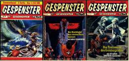 5 X Comic  -  Gespenster Geschichten  -  Nr. 116 , 119 , 120 , 308 , 413 Von Ca. 1980 - Books, Magazines, Comics