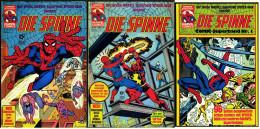 "5 X Marvel Comic  -  ""Die Spinne""  -  Nr. 4 , 8 , 10 , 31 , 35 , Von Ca. 1980 - Books, Magazines, Comics"