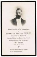 MONSIEUR EUGENE EUDES DOCTEUR EN MEDECINE ANCIEN MAIRE DE CERISY-LA-SALLE ENDORMI DANS LA PAIX DU SEIGNEUR 1929 - Décès