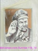 V.I. Lenin Russia Revolutionist, Scientist, Communist, Leader Soviet People / Soviet Badge 119_14_5259 - Personnes Célèbres