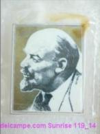 V.I. Lenin Russia Revolutionist, Scientist, Communist, Leader Soviet People / Soviet Badge 119_14_5264 - Personnes Célèbres