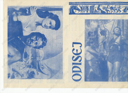 Film, Movie, Cinema Program - ULISSE - KIRK DOUGLAS..OLD EX YU MOVIE PROGRAM - Programma's