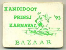 Aalst Karnaval -  Kandidoot Prinsj Karnaval '93 BAZAAR - Carnaval