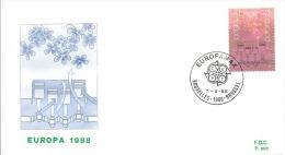 ENVELOPPE 1er JOUR  EUROPA  1988 - 1961-70