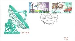 ENVELOPPE 1er JOUR  EUROPA  1979 - 1961-70