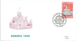 ENVELOPPE 1er JOUR  EUROPA  1990 - 1961-70