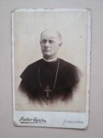Vintage Cabinet Card , Szegzard - Anonieme Personen