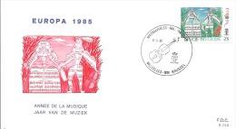 ENVELOPPE 1er JOUR  EUROPA  1985 - 1961-70