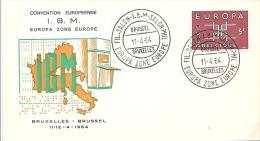 ENVELOPPE 1er JOUR  EUROPA  1964 - 1961-70