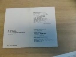 Doodsprentje Polydoor Mortier Veurne 13/6/1909 St Denijs Westrem 5/8/1983 ( Louise Compernolle) - Religion & Esotericism