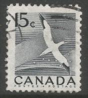Canada. 1954 Northern Gannet. 15c Used. SG 474 - 1952-.... Reign Of Elizabeth II
