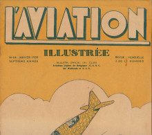 L´AVIATION ILLUSTREE Avion S 47 SABCA Pilote Wincza Gand Aviation Curtiss Wright CW20 Liaison Belgique Congo - Libri, Riviste, Fumetti