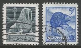 Canada. 1954 National Wildlife Week. Used Complete Set - 1952-.... Reign Of Elizabeth II