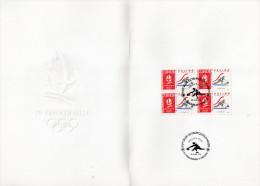 ★ FRANCE - DOCUMENT - JEUX OLYMPIQUES ALBERTVILLE - CURLING - NUMEROTE - Winter 1992: Albertville
