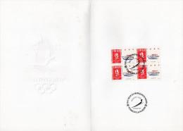 ★ FRANCE - DOCUMENT - JEUX OLYMPIQUES ALBERTVILLE - LUGE - NUMEROTE - Winter 1992: Albertville