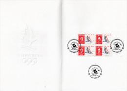 ★ FRANCE - DOCUMENT - JEUX OLYMPIQUES ALBERTVILLE - SLALOM - NUMEROTE - Winter 1992: Albertville