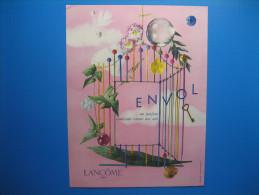Publicité 1957 ENVOL Parfum De LANCÔME - Advertising