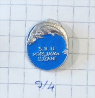 Fishing Club ORLJAVA Lužani (Bosnia) Yugoslavia / Poisson Pêche Pesca Fischerei Fiske Fischen Pesca Fish Vis Pesce - Pin's & Anstecknadeln
