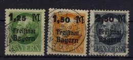 Bayern Michel No. 174 - 176 A gestempelt used