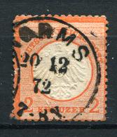 17225) DEUTSCHES REICH # 8 Gestempelt Aus 1872, 400.- € - Deutschland