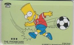 Simpsons    Bart Simpsons  Football - Film