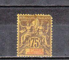 Sainte-Marie De Madagascar YT 12 * : 1896 - Ongebruikt