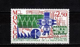 Monaco YT 1601 ** : électro-mécanique - 1987 - Fabbriche E Imprese