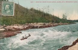Etats-Unis - Alaska - Descente Des Rapides En Canoe - Perboro Canoe In White Horse Rapids - Etats-Unis