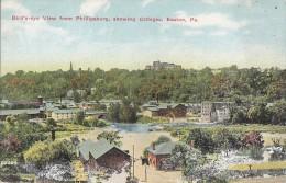 Etats-Unis - Easton - Bird's Eye View From Phillipsburg - Etats-Unis
