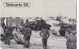Telefoonkaart 1944 1994  Landings And The Liberation De La France    50 ème Anniversaire - Armee