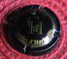 Capsule De Champagne -  Charles D´Harleville    - N°: 1  -  Noir. - Champagne