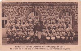22479 Saint-FRAIMBAULT PRIERES (Mayenne France) Fanfare Petits Orphelins Georges Lisle -coll Collet -enfant Tambour - Musique Et Musiciens