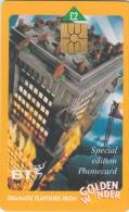BT     GOLDEN WONDER  Dramatic Flavours   Special Edition Phonecard - Verenigd-Koninkrijk