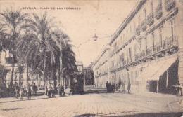 22480 Sevilla Plaza De San Fernando -sans éditeur ! Attention Mauvais état ! - Sevilla