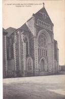 22481 SAINT HILAIRE DE CHALEONS Facade De  L'EGLISE -17chapeau - France