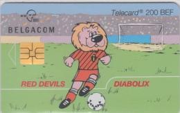 Belgacom Belgium     Red Devils   Rode Duivels    Diabolix - Sport