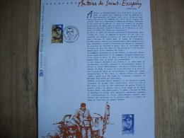 """Document Philatélique De La Poste Année 2000 N° 531  """" Antoine De Saint-Exupéry"""" - Documenten Van De Post"""